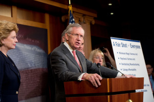 U.S. Senate Majority Leader Harry Reid