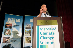 Maryland Governor Martin O'Malley speaks at Maryland Climate Change Summit, 2013
