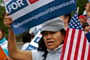 Rally for Immigration Reform, Ann Arbor, Michigan, 2010