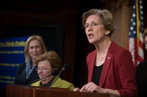 CRomnibus opponent Sen. Elizabeth Warren (D-MA)