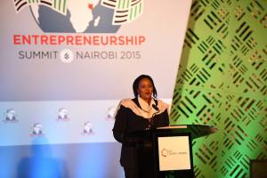Kenyan ambassador Amina Mohamed, July 24, 2015