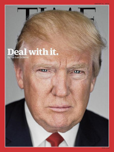 Time magazine's latest Donald Trump cover