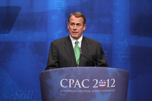 John Boehner at the 2012 Conservative Political Action Conference