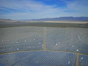 Ivanpah solar energy facility, California