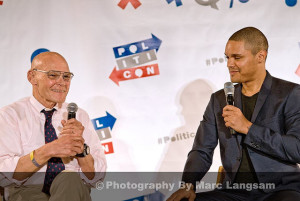 James Carville meets Trevor Noah at Politicon 2015