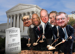 The U.S. Supreme Court's conservative Republican majority
