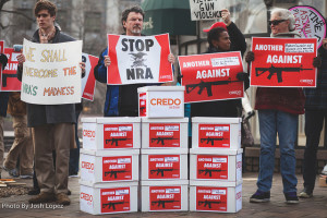 Anti-NRA protest