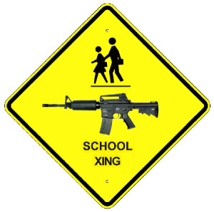 America's intersection of children and guns