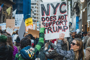 Anti-Trump protest in New York City, Nov. 12, 2016