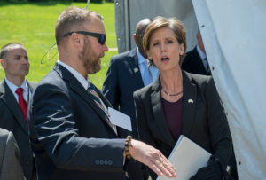 Sally Yates, then Deputy Attorney General, in 2016